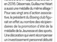 Article La Republique 26 Sept 2020